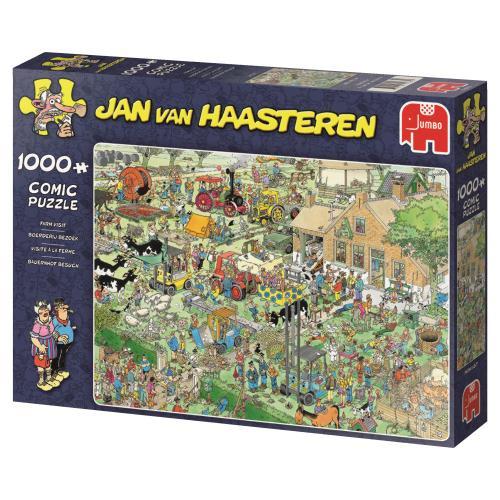 Jan van Haasteren Boerderijbezoek 1000 Stukjes