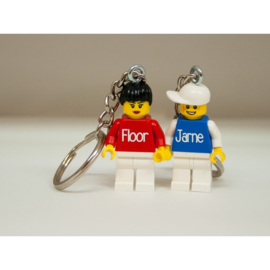 lego® minifig sleutelhanger