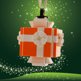 lego® gepersonaliseerde kerstbal pakje