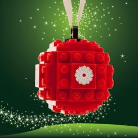 lego® gepersonaliseerde kerstbal