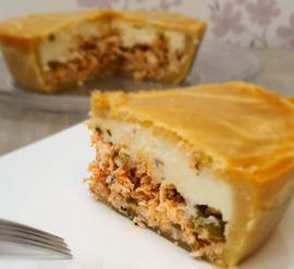 Chicken Pie With Catupiry