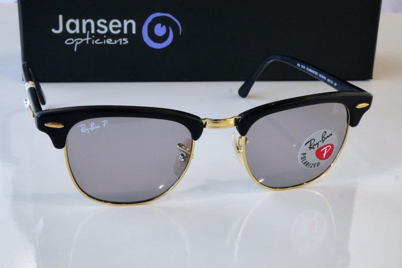 RayBan 3016 Clubmaster Kleur 901S/P2 Maat 49/21