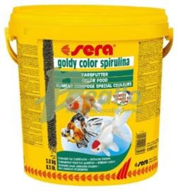 sera goldy color spirulina 10 ltr