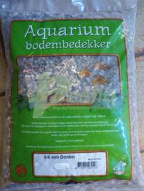 Aquarium grind donker mix 3-6 mm 8kg
