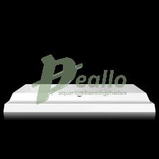 Juwel lichtkap 60x30cm LED wit