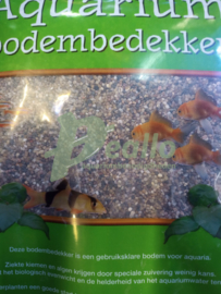 Aquarium grind donker mix 1-2 mm 8kg