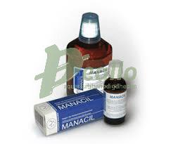 Manacil ter behandeling van witte stip