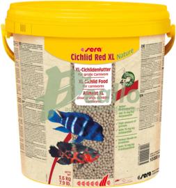 Sera Cichlid Red XL 3,6 kilo (10 liter)