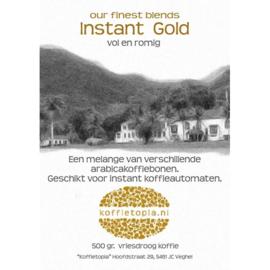 Koffietopia Instantkoffie (vriesdroog) Superior Gold 8 x 500gr