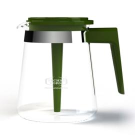 Glaskan koffiepot model 68 Groen