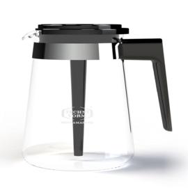 Glaskan koffiepot model 68 Zwart