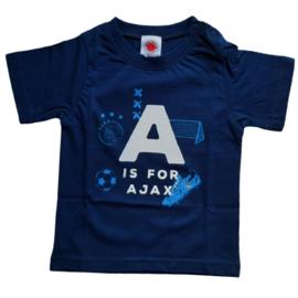 Ajax baby t-shirt, maat 74-80
