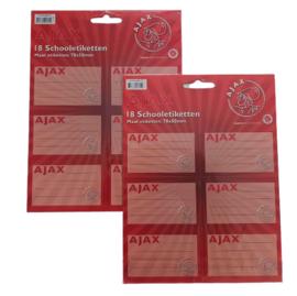 Ajax schooletiketten