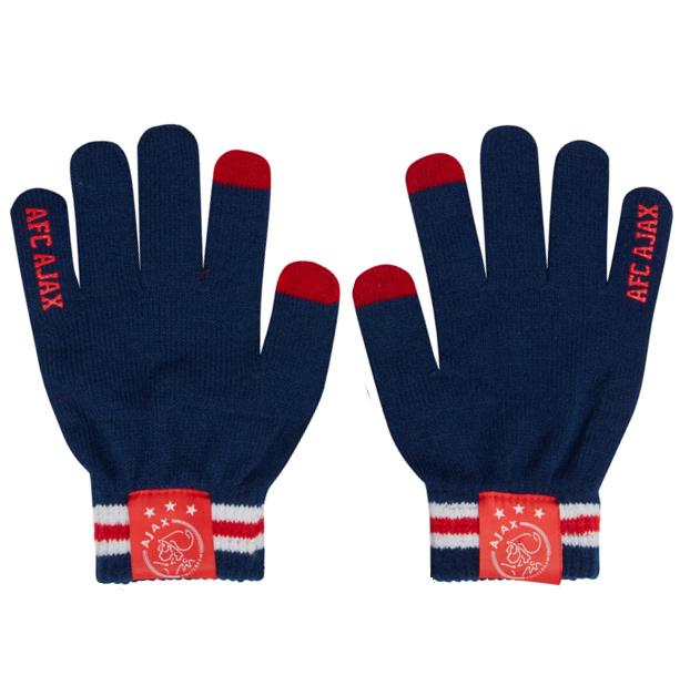 Ajax handschoenen junior, maat S-M
