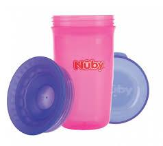 NUBY 360* WONDERCUP ROSE/BLAUW