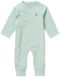 NOPPIES BABYROMPER LOU GREY MINT