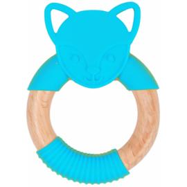 BO JUNGLE B-WOOD TEETHER BLUE FOX