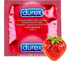 Aardbei - Durex Fruit Condoom 12 Stuks