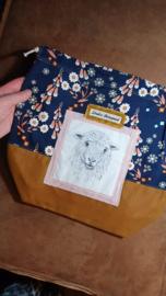 Studio Bereguod Schaap/sheep Project bag 31x34 cm