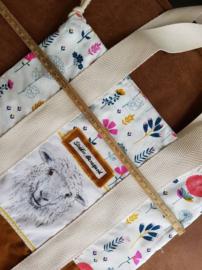 Studio Bereguod Schaap/sheep Project bag 31x32 cm