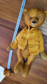 Handgemaakte teddybeer Manfred