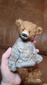 Handgemaakte teddybeer  19 cm