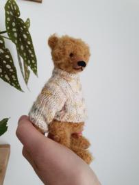 Handgemaakte teddybeer klein Sam