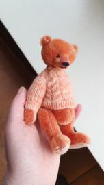 Handgemaakte teddybeer klein