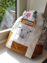 Studio Bereguod Schaap/sheep Project bag 31x32 cm