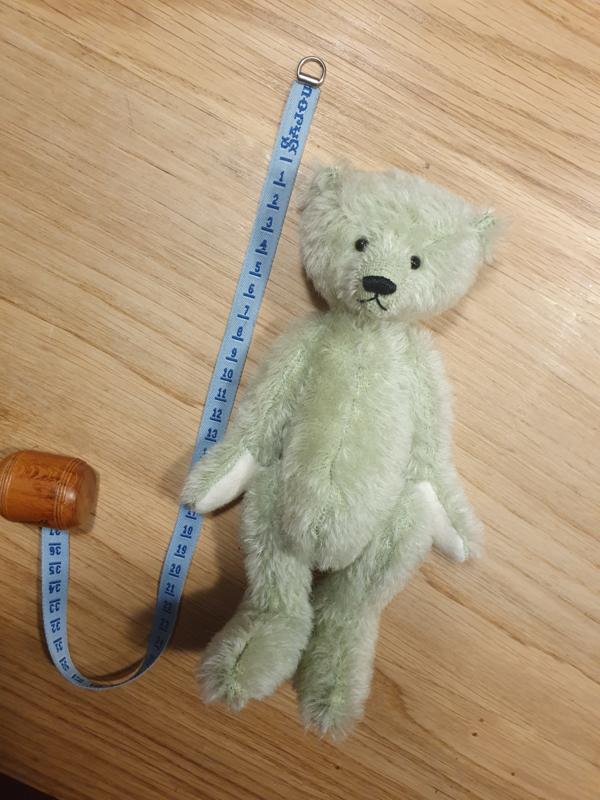 Handgemaakte teddybeer Monty
