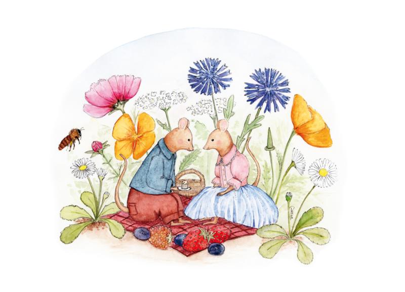 Muisjes Picknicken