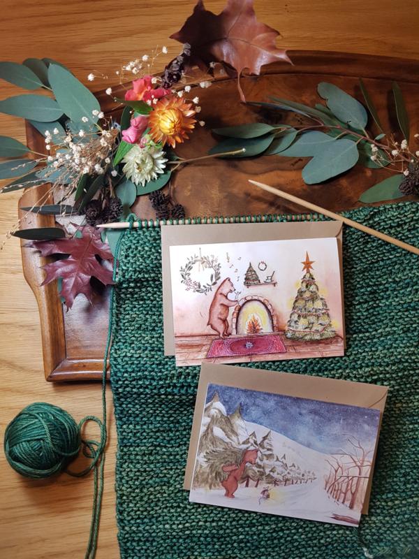 Kerstkaarten Nieuw! 2019