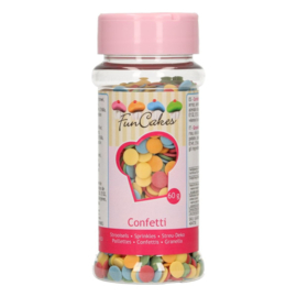 FunCakes   Confetti 6mm mix 60g