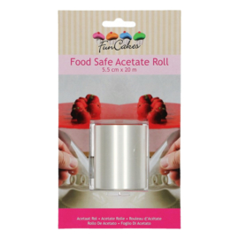 FunCakes | Food Safe Acetate Rolll (5,5 cmx20m)