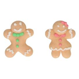 FunCakes | Suikerdecoratie Gingerbread (set/8)