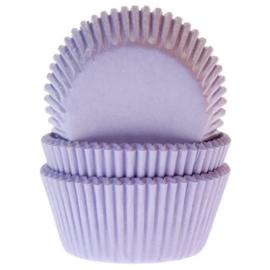 HoM   Baking cups Lila (set/50) (normaal)