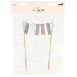 PartyDeco | Cake Topper Bunting Garland