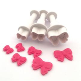 DekoFee | Plunger Cutters mini Bows (set/3)