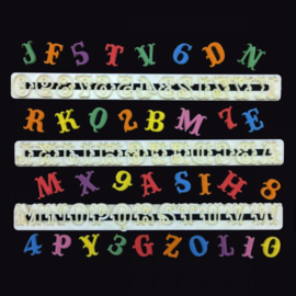 FMM | Carnival Alphabet & numbers set (2.2 cm) Upper Case