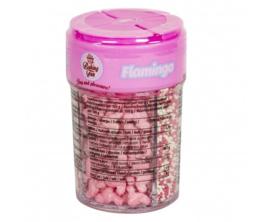 Baking Fun   Strooisel Flamingo / 120g