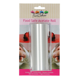 FunCakes | Food Safe Acetate Roll (12cmx20m)