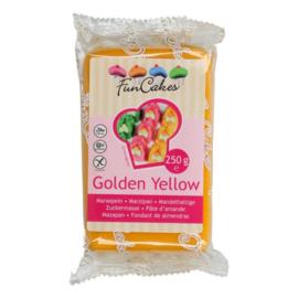 FunCakes | Marsepein golden yellow
