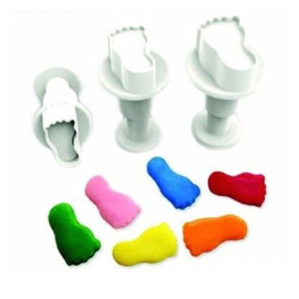 DekoFee | Plunger Cutters mini Feet (set/3)