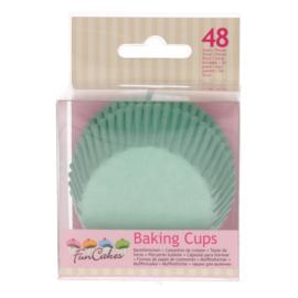 FC | Baking cups Mintgreen