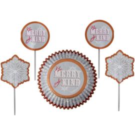 Cupcake combo snowflake wish