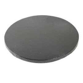 Funcakes   Cakedrum 25 cm zwart