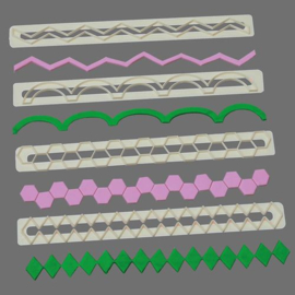 FMM | Geometric Edging set (set/4) no. 5