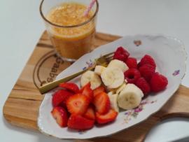 Kindersmoothie en fruit