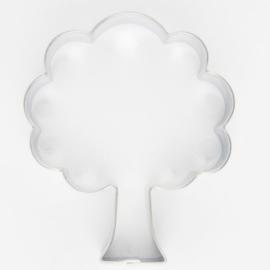 Cookie cutter   Uitsteker metaal boom 6cm