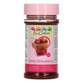 FunCakes | Smaakstof zestry strawberry / aardbei friszuur